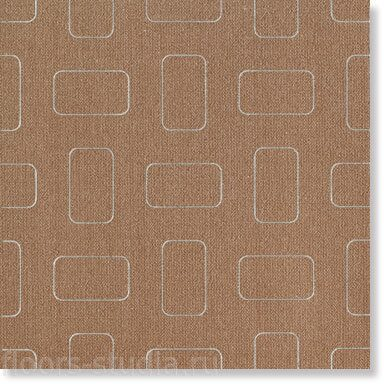 Декор Light Amber Brown Inserto Pattern lap.