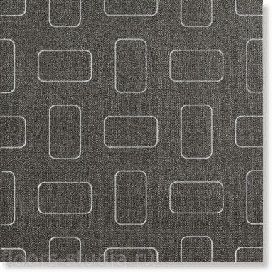Декор Light Dark Black Inserto Pattern lap.